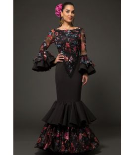 Flamenca dress Reina printed