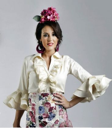 blouses and flamenco skirts in stock immediate shipment - Roal - Blouse flamenca Aida
