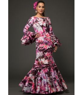 Flamenca dress Pasion Flowers