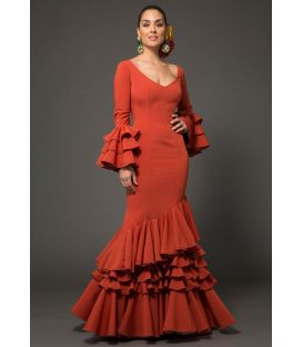 flamenca dresses 2018 for woman - Aires de Feria - Flamenca dress Estrella rubi