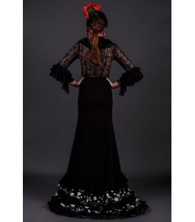 tailed gown bata de cola - Faldas de flamenco a medida / Custom flamenco skirts - Colin strech
