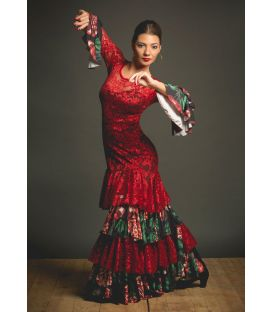flamenco dance dresses for woman - - Robles Dress - Lace
