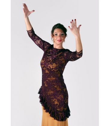 maillots bodys flamenco tops for woman - - Bela T-shirt - Lace