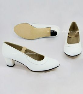 Flamenca Shoes White