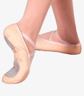 half pointe shoes - - Shoe Ballet Canvas Split Sole Dalia