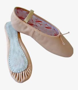 half pointe shoes - - Ballet leather shoes Pilar