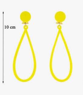 Earrings Design 02 - Acetate