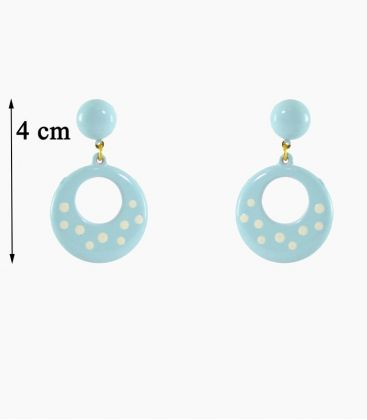 flamenco earrings - - Earrings Design 09 - Plastic