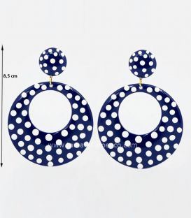Earrings SUPER - Personalized Polka dots