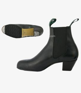 chaussures dentrainement semi professionnelles - - Boot flamenco semi-professionnel - TAMARA