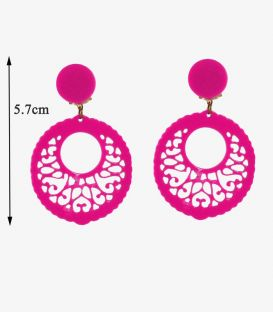 Earrings 04 - Acetate