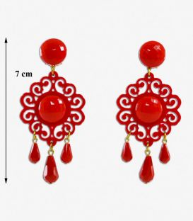 Earrings 36 - Acetate
