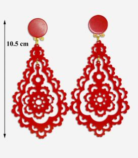 Earrings 09 - Acetate