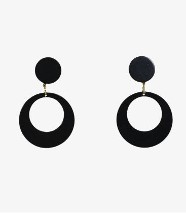 flamenco earrings - - Earrings 02 - Acetate