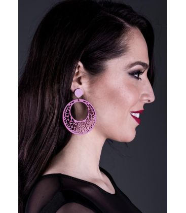 flamenco earrings - - Earrings 13 - Acetate