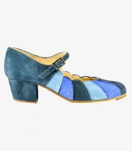 in stock flamenco shoes professionals - Begoña Cervera - Acuarela