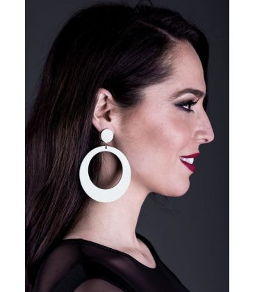 flamenco earrings - - Earrings 20 - Acetate