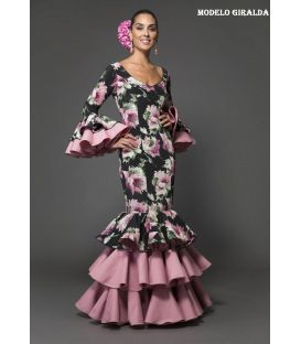 Flamenca dress Giralda Printed
