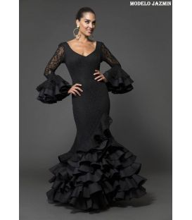 Flamenca dress Jazmin black lace