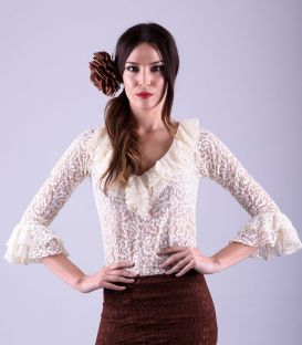 TAMARA lace flamenca shirt