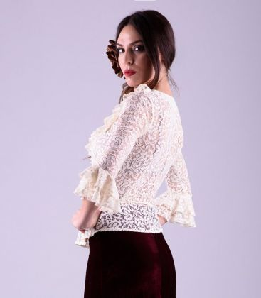 blouses and flamenco skirts in stock immediate shipment - - Camisa encaje
