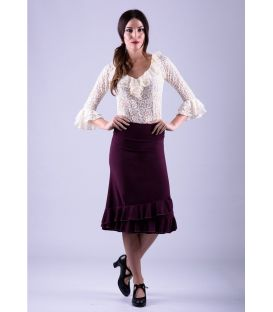 flamenco skirts for woman - - Short skirt Lucia - Viscose