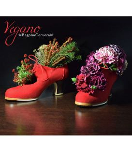 flamenco shoes professional for woman - Begoña Cervera - Cordonera - Vegan